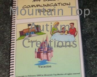 90 Pecs Autism Communication Travel Album