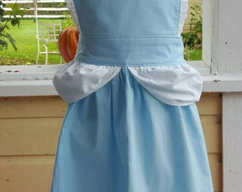 Cinderella Apron-Dress Up Apron