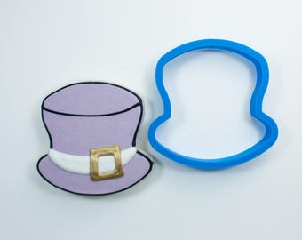 Chubby Top Hat Cookie Cutter