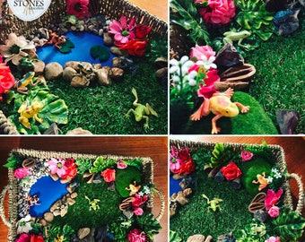 Frog Pond Basket Playscape