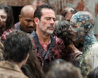 The Walking Dead Negan 8.5x11 Photo #1121-1