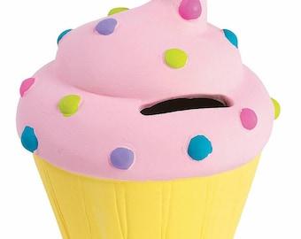 Painted Cupcake Banks