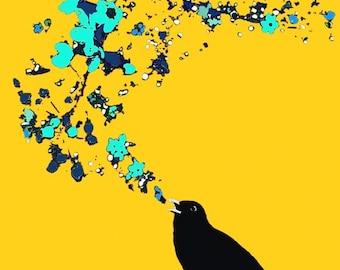 Blackbird Sings The Blues - Yellow