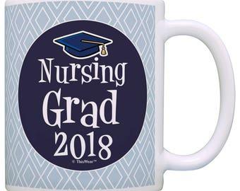 Great Gift for Nursing Student Nursing Grad 2018 - M11-2857