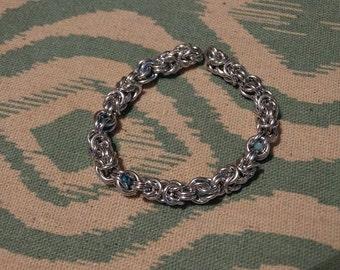 Captive Byzantine Chainmaille Bracelet
