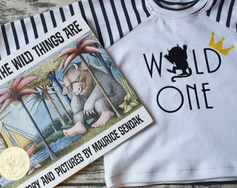 Where the Wild Things Are   Wild One Birthday    Wild One Shirt   First Birthday Shirt   Birthday Girl or Boy   Baby Gift   Baby Shower Gift