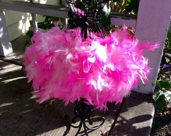 Feather tutu, flamingo tutu, feather dress, costume, dress up, feathers, tutu, tulle tutu, flower girl, flower girl dress, wedding, baptism