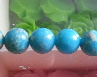 5 genuine natural reality of 8mm beads, trou1mm