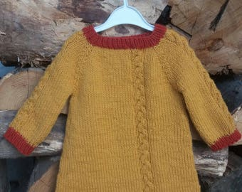 Autumn Little Girl Dress