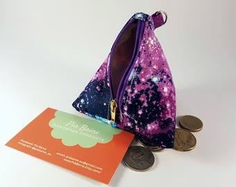 Coin Purse, Galaxy Coin Purse, Teachers Gift, Little Pouch.