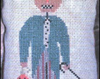 cross stitch pattern from Notforgotten Farm - HEZEKIAH HIGGENBOTTOM
