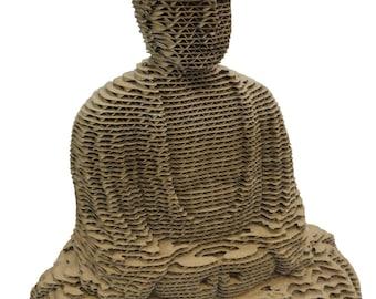 The sitting Buddha statue