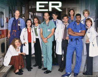 Cast from the show ER