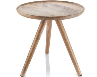 A table made of mango wood