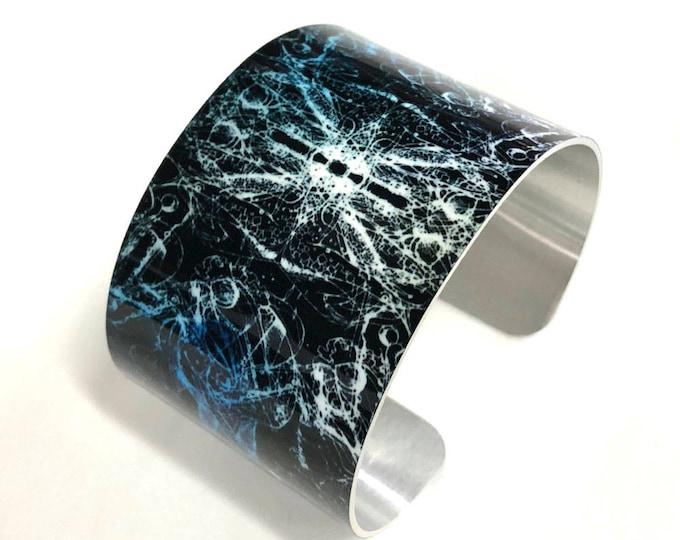 Cuff Bracelet-Cuff-Bond-Aluminum-bracelet-Sublimation-gift for women-gift for friend-Unisex