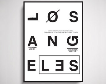 LA Typographic Design