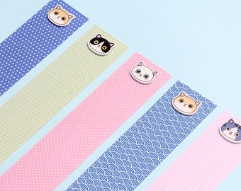 Cute Bookmarks 5 Pack