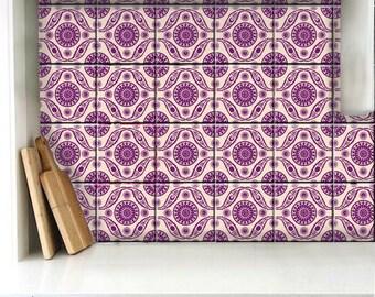 Turkish Tile/Wall/ Floor Decals for Kitchen Bathroom Stairs