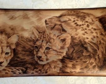 Leopard Wallpaper Boarder