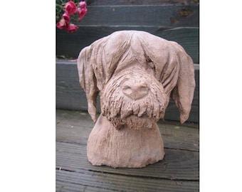 Nice ceramic dog sculpture