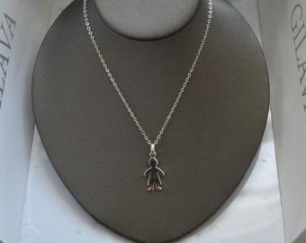 Sterling silver Necklace Boy, silver 950, fine jewelry