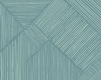 INDIE BOHEME By Pat Bravo for Art Gallery Fabrics Trouvaille Routes Ocean