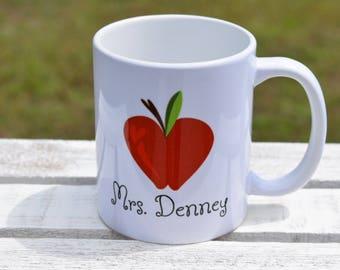 Teacher Appreciation Gift, Teacher Cup, Gift for Teacher, Personalized Teacher Gift, Personalized Teacher Coffee Mug