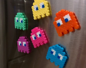Pacman Ghosts fridge magnets