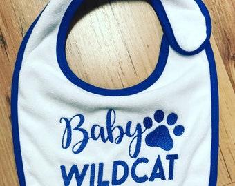 Baby Wildcat Baby Bib