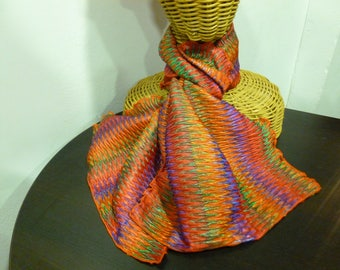 Harlequin stretchy scarf