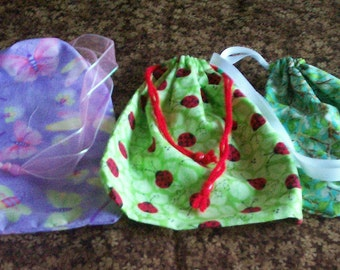 Medium Cotton Drawstring Bags