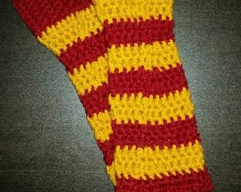 Harry Potter fingerless gloves/ fingerless mittens/ harry potter arm warmers