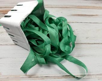 5 yards Grasgrün Seam Binding. Verpackung, Scrapbooking, schäbig hübsche Verzierung