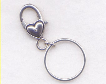 Clip Stitch Marker Holder Keeper With Solid Continuous Ring Crochet Clips  Handy
