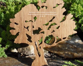 """WOODEN tree """"Hawthorn"""" without stand"""