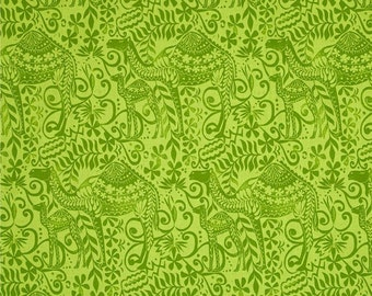 Jasmine by Valori Wells AVW-16646-49 in Olive, Rare Quilting Fabric