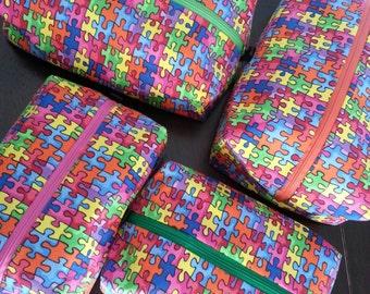 Autism Awareness Cosmetic Bag