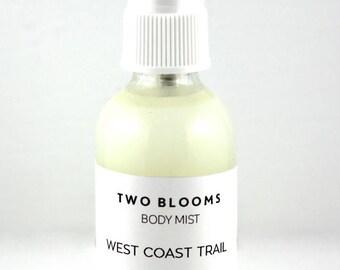Forest Room Spray - Explore West Coast Trail Aroma Mist Sprays 2 oz - Air Freshener - Room Spray Handcrafted Victoria, BC Canada