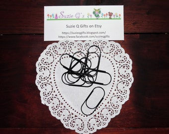 Chubby Paper Clips ~ Set of 6