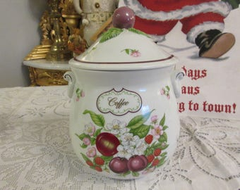 LENOX ORCHARD COFFEE Canister with Lid