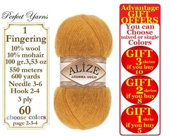 Alize Angora Gold Wool mohair yarn.  wool yarn, mohair yarn, acrylic yarn, crochet yarn, Alize yarn, crochet yarn, Lace yarn, Angora wool