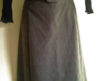 Ladies Vintage Australian Made Summer Office Skirt