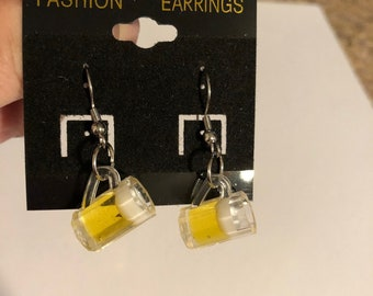 Beer Earrings!
