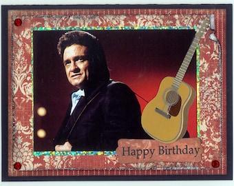 Johnny Cash Birthday Card