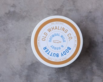 ONE Oatmeal Milk + Honey Body Butter || handmade lotion / shea butter / aloe vera / paraben + mineral oil free / moisturizing / best seller
