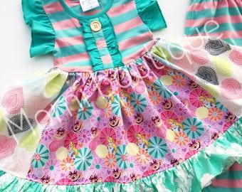 Alice in wonderland Disney dress Momi boutique custom dress