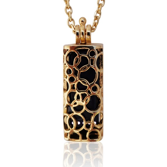 Necklace SOMA - Flex Jewelry -made from stainless steel - Gold