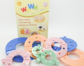 Pompom maker Kit 8 pieces