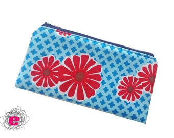 Pencil Case, Zipper Pouch fantastic flowers