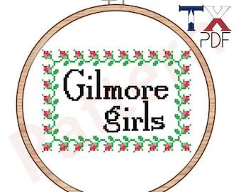 Gilmore Girls cross stitch pattern